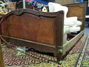 Sale 8545 - Lot 1086 - Art Deco French Double Bed Frame
