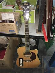 Sale 8659 - Lot 2213A - Freedom Semi Acoustic Guitar with Tuner & EQ
