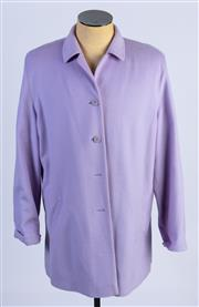 Sale 8926H - Lot 21 - A BASLER wool coat in lilac, size 42