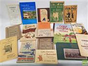 Sale 8900 - Lot 40 - Collection of Ephemera & Booklets incl, The Hiking Guide; Golf Courses of Victoria; etc
