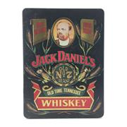 Sale 8588 - Lot 743 - 1x Jack Daniels 'Old No.7' Tennessee Whiskey - in limited edition tin canister w 2 glasses