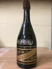 Sale 8677B - Lot 953 - Five bottle 1994 pinot noir chardonnay Fleur de lys