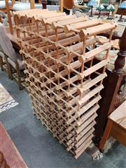 Sale 8760 - Lot 1093 - Timber Wine Rack