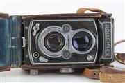 Sale 8810 - Lot 67 - Franke & Heidecke Rolleiflex Camera with Zeiss-Opton Lens