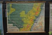 Sale 8260 - Lot 1082 - Chas. H. Scally & Co. Vintage Map of NSW