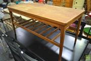 Sale 8262 - Lot 1089 - Retro Coffee Table with Tier Below