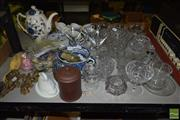Sale 8530 - Lot 2184 - Collection of Assorted Wares incl Ceramics & Crystal Wares