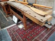 Sale 8697 - Lot 1023 - Industrial Works Bench with Vice