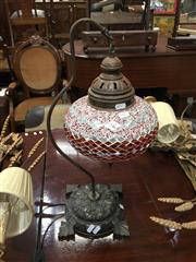 Sale 8745 - Lot 1060A - Moroccan Hanging Table Lamp