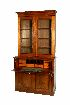 Sale 3765 - Lot 102 - A LATE NINETEENTH CENTURY CEDAR SECRETAIRE BOOKCASE