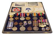 Sale 7978 - Lot 91 - W.D McNamara War Medals, Awards & Related Ephemera