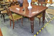 Sale 7987A - Lot 1080 - Late Victorian Extension Dining Table with Single Leaf (Winder in Office)