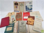 Sale 8900 - Lot 19 - Collection of Vintage Maps Most on Sydney incl. H.F. Halloran Land Sale Map for Seaforth; Pearsons Road Guide; Robertson, Map N...