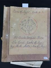 Sale 8539M - Lot 69 - The Magician Dreams - Gems of Magic, by Keith Abson. Book 6-F. 100 Tricks compiled from the scrapbooks of magic. Features J. Alb...