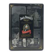 Sale 8588 - Lot 745 - 1x Jack Daniels 'Old No.7' Tennessee Whiskey - in limited edition tin canister w 2 glasses