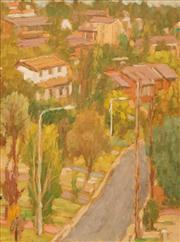 Sale 8642A - Lot 5079 - Edna (Peg) Garran-Brown (1918 - 2017) - Red Roofs, Wahroonga 59 x 44cm
