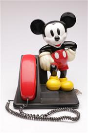 Sale 9052 - Lot 24 - AT&T Mickey Mouse Telephone