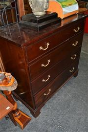 Sale 8013 - Lot 1241 - Timber Chest of 4 Drawers