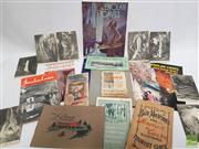 Sale 8900 - Lot 37 - Collection of Ephemera & Booklets on Jenolan Caves
