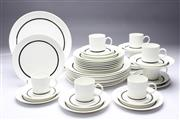 Sale 8701 - Lot 348 - Wedgwood Susie Cooper Design Charisma Dinner Service For Eight