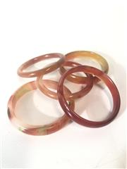 Sale 8739C - Lot 34 - Collection of 5 Chinese Bangles
