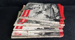 Sale 9208 - Lot 2028 - Collection of Walkabout Magazines most from the 50s, with punch holes
