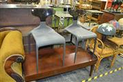 Sale 8093 - Lot 1429 - Pair of Italian Dining Chairs