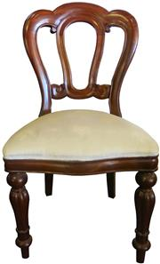 Sale 8258A - Lot 43 - Set of eight admiralty back dining chairs, RRP $450 each