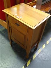 Sale 7969A - Lot 1049 - Pair of Raised Bedside Cabinets