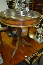 Sale 8093 - Lot 1403 - Timber Drum Table