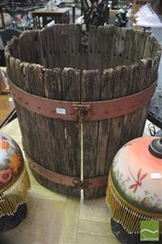 Sale 8299 - Lot 1082 - Grape Press Barrel
