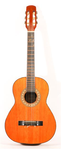 Sale 9136 - Lot 37 - A Hondo acoustic (H10N) in carry case