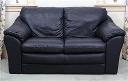 Sale 9190H - Lot 384 - An italian two seater sofa by Rossini, Height of back 85cm x Width 157cm x Depth 74cm