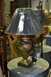 Sale 8124 - Lot 1019 - Two Pairs Of Table Lamps