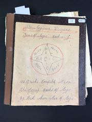 Sale 8539M - Lot 72 - The Magician Dreams - Gems of Magic, by Keith Abson. Book 10-J. 100 Tricks from compiled from the scrapbooks of magic, 22/9/1973...