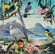 Sale 8943A - Lot 5015 - Ralph Malcolm Warner (1902 - 1966) - Birds of Tasmania, c1959 gouache