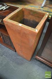Sale 8299 - Lot 1047 - Large Terracotta Planter