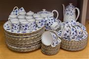Sale 8310A - Lot 206 - A large quantity of blue and white Spode tea and coffee, and dinner wares, with 20 dinner plates, 12 tea cups, 12 coffee cans, a tea...
