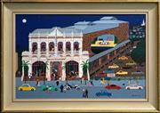 Sale 8443 - Lot 594 - Katy Edwards (active 1987) - The Princess Theatre, c1988 49.5 x 75.5cm