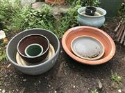 Sale 8839 - Lot 1380 - Collection of Planters
