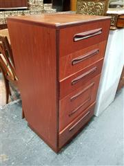 Sale 8908 - Lot 1096 - G-Plan Teak Tall Boy