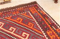 Sale 8934H - Lot 95 - A Large Kilim in mainly red tones, 480cm x 300cm