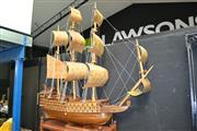 Sale 8129 - Lot 1013 - Large Model Galleon (some losses)