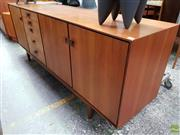 Sale 8566 - Lot 1098 - Superb G-Plan Koford Larson Teak Sideboard