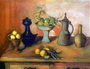 Sale 8849A - Lot 5008 - Margaret Olley (1923 - 2011) - Turkish Pots and Lemons, 2004 79 x 108cm