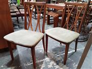 Sale 8908 - Lot 1098 - Set of 6 G-Plan Teak Dining Chairs