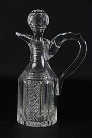 Sale 8923B - Lot 5 - A Waterford crystal pitcher and stopper. Height 31cm