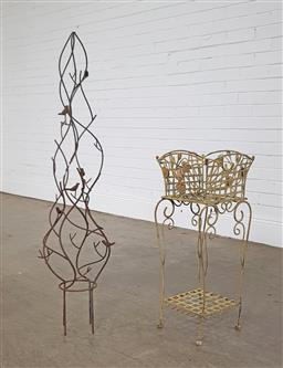 Sale 9255 - Lot 1488 - Collection of 3 plant stands (h:103cm)