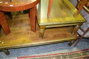 Sale 8093 - Lot 1421 - 2 Timber Occasional Tables