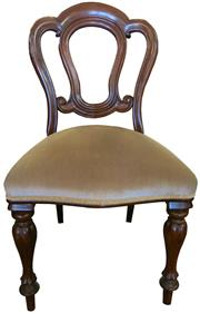 Sale 8258A - Lot 48 - Set of ten Victorian style mahogany Admiralty back dining chairs, RRP $4500 set